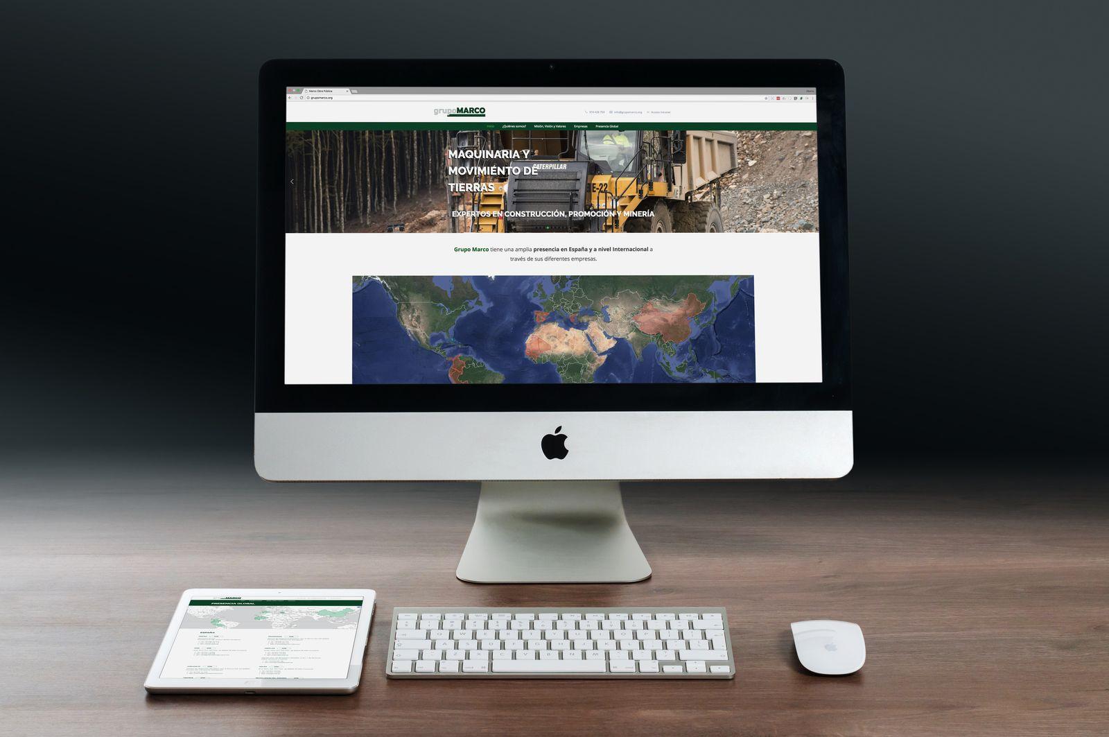 Hoy lanzamos la nueva página web de Grupo Marco, que es la ...