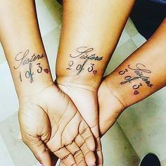 Birds of a Feather | Three sister tattoos, Tattoo and Tatting