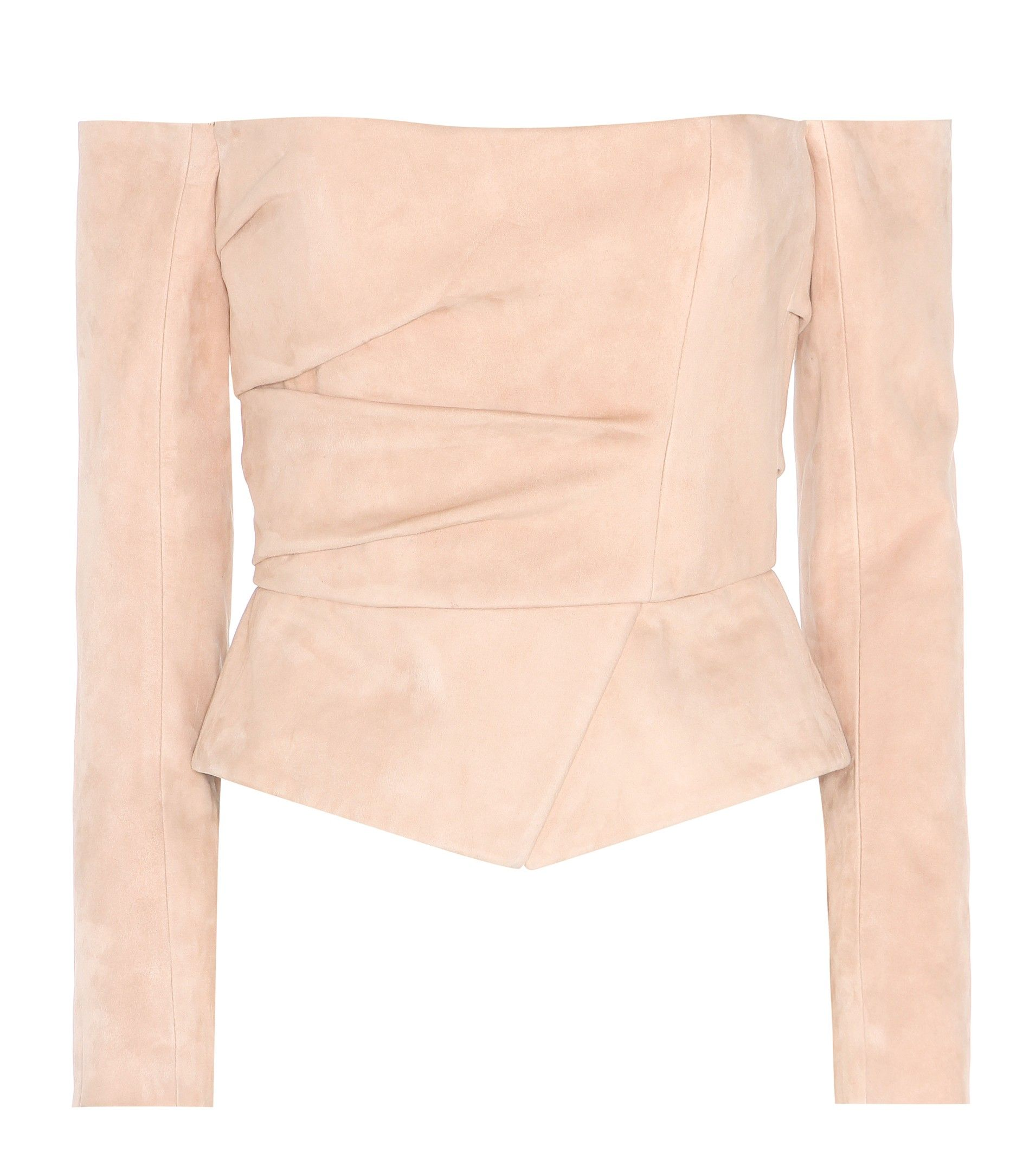 mytheresa.com - Leather top - Luxury Fashion for Women / Designer clothing, shoes, bags