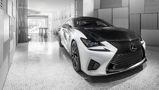 lexus rc f white interior. more photos of the white lexus rc f with carbon fiber package for updates rc interior