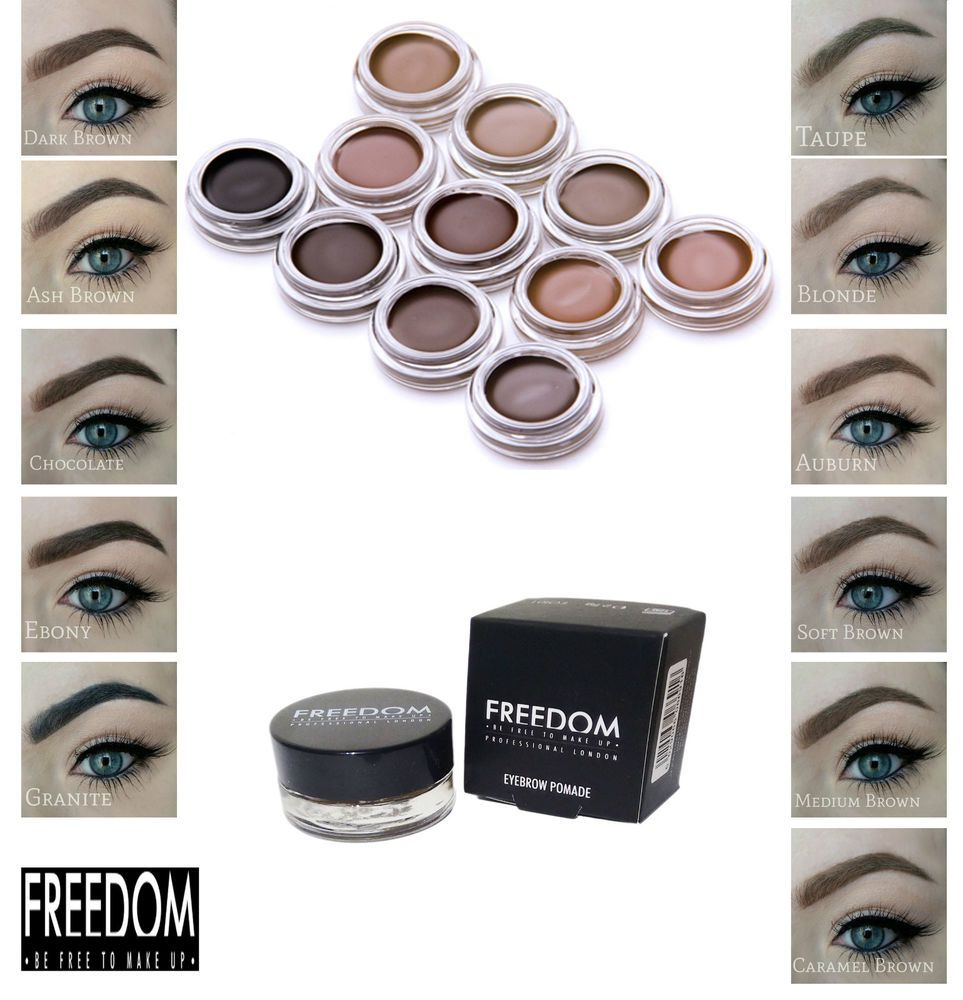 Details About Brow Pomade Freedom Make Up Eyebrow Liner Hd Brow Gel
