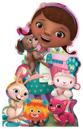 Doc Mcstuffins Pet Vet Disney Junior Lifesize Standup Jpg 289 450 Dra Juguetes Doctora Juguetes Juguetes Gratis