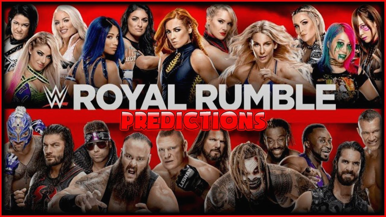 WWE Royal Rumble 2020 Predictions in 2020 Wwe royal