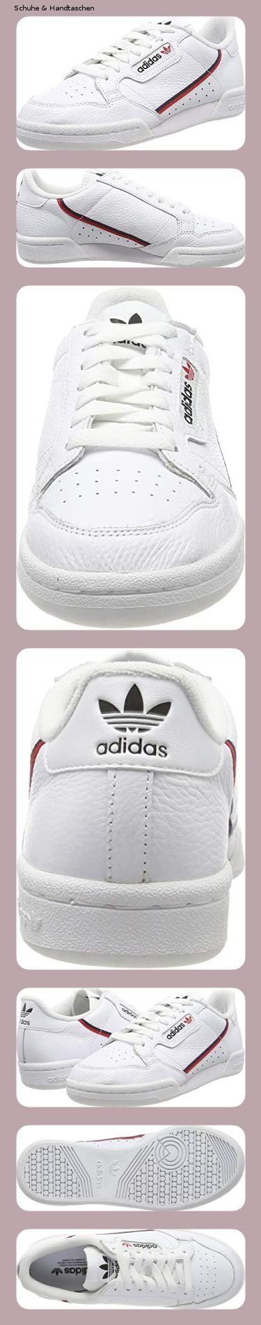 adidas Herren Continental Fitnessschuhe, Weiß (FtwblaEscarl
