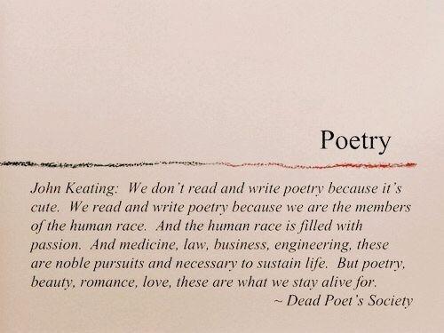 – Poetry  on We Heart It