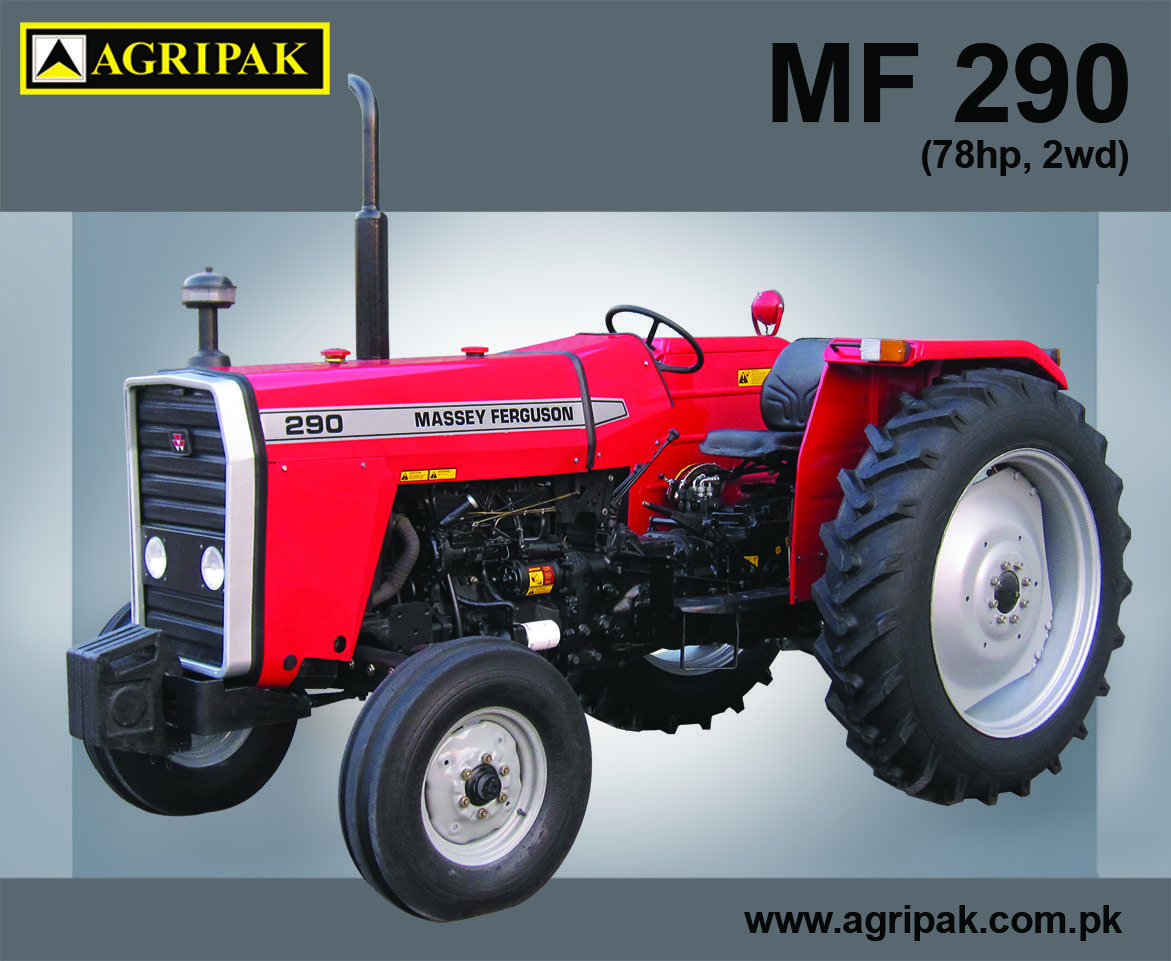 Following are few of the specifications of MF 290: 1.Diesel 4.248 efficient