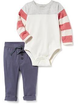 31a54580f 2-Piece Bodysuit and Pants Set