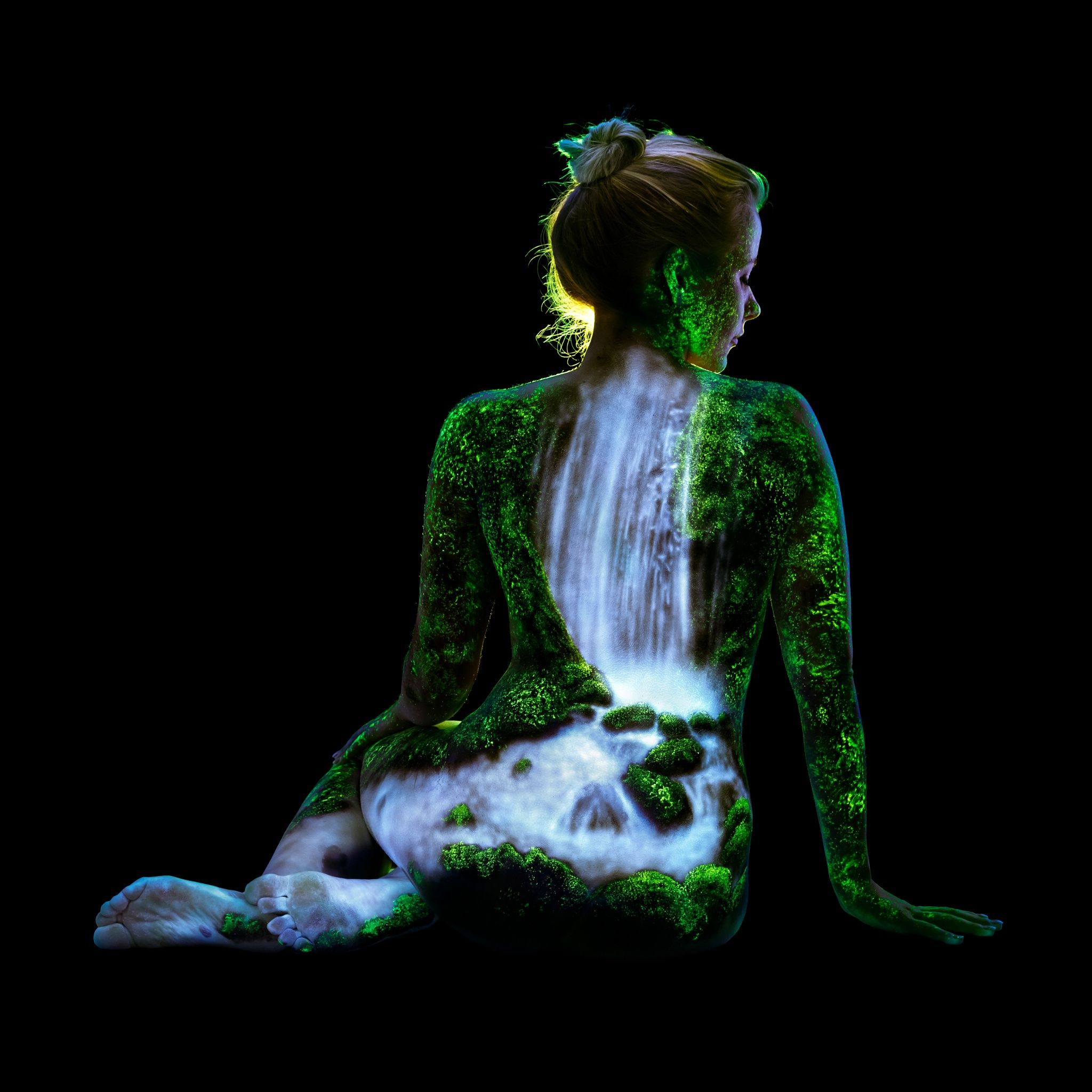 Katie's Rain Forrest Waterfall by John Poppleton on 500px