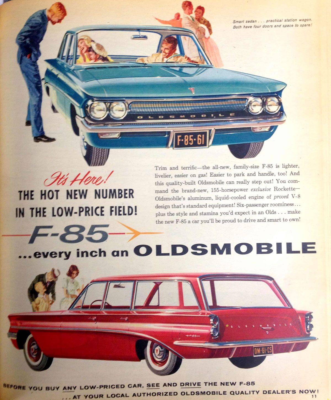 vintage everyday: Vintage Car Advertising Posters in US from 1957-1960