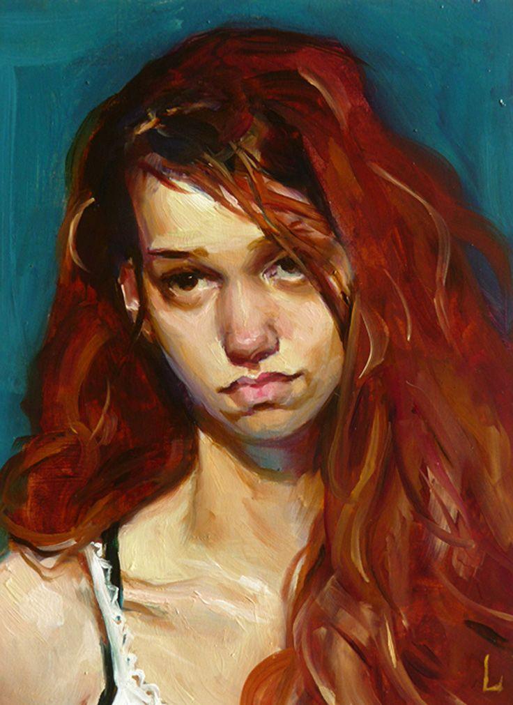 John averill artist redhead
