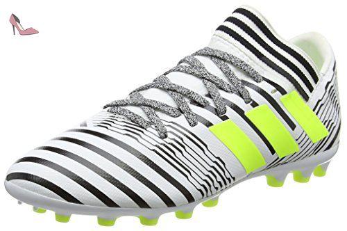 adidas Nemeziz 17.3 Ag, Chaussures de Football Mixte Enfant, Jaune (Footwear  White/