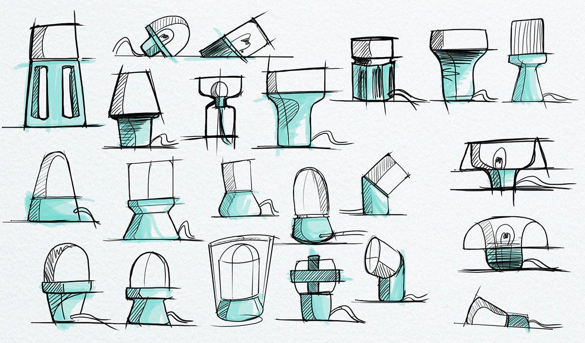 Eita Table Lamp For Colours By Damien Urvoy Industrial Design Sketch Design Sketch Sketch Design