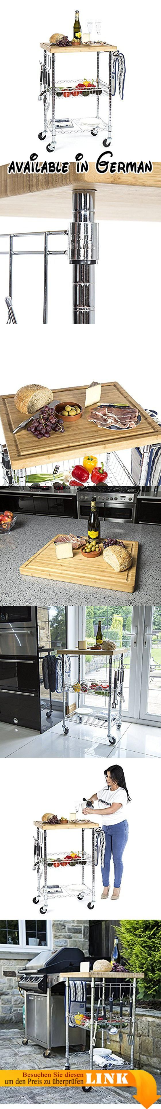 B072N167LW : Lavish chrom Wein Esstisch 3Etagen Küche Warenkorb mit ...