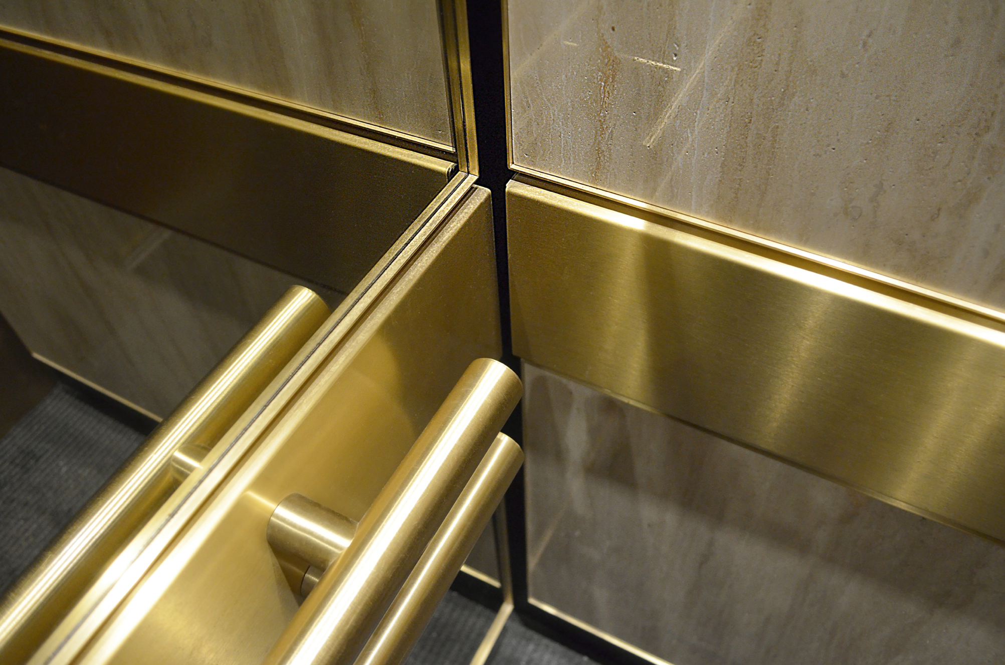 Best Two 1 1 2 38Mm Dia Brushed And Lacquered Brass Tubular 400 x 300