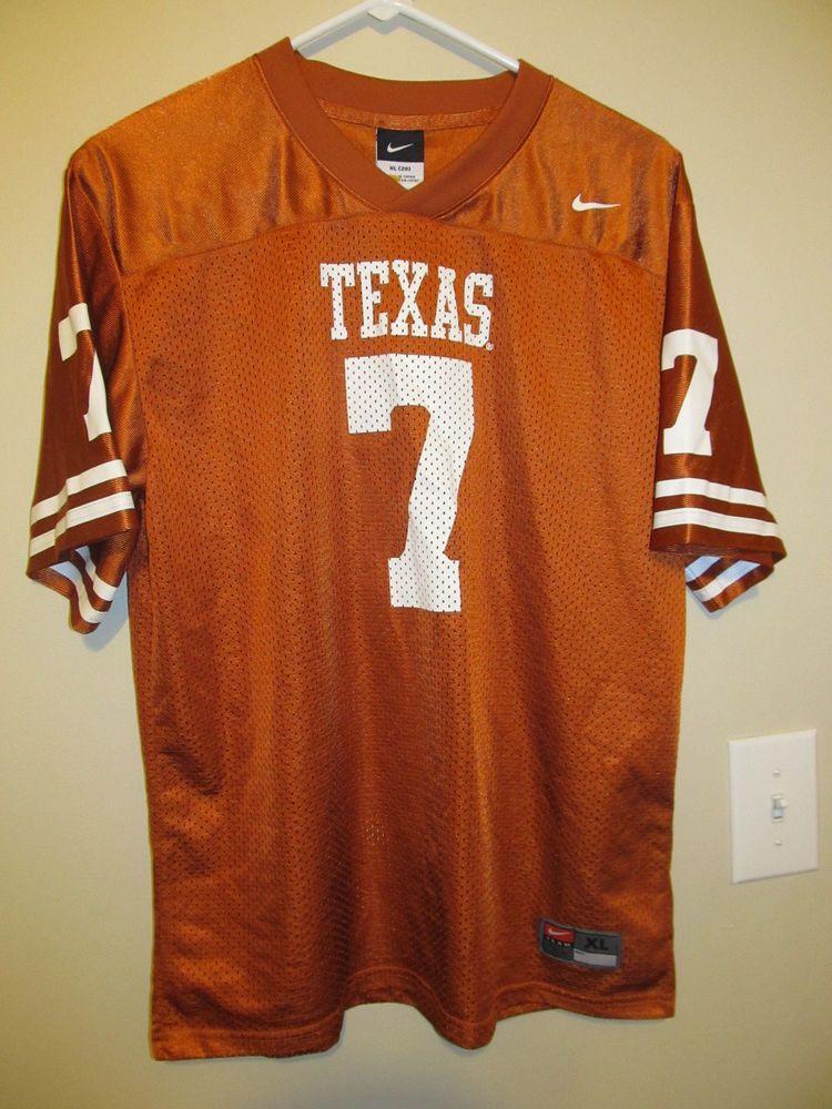 online store db912 79879 Texas Longhorns Football jersey - Nike Youth XL #Nike ...