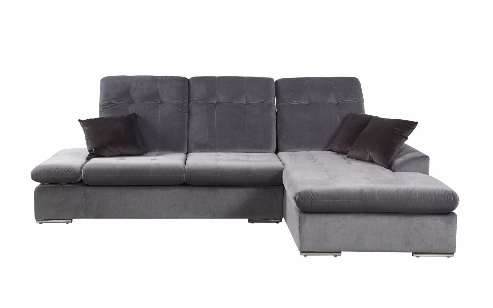 Concorde Microfiber Sectional Sofa With Chaise