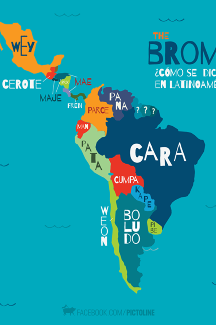 How You Say \'Bro\' In Different Latin American Countries | ¡Reí con ...