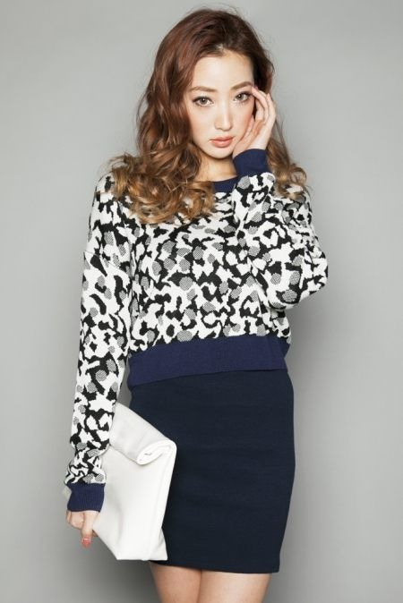 cute sweaters: Resexxy リゼクシー MIXパターンニットTOPS - shopstyle.co.jp