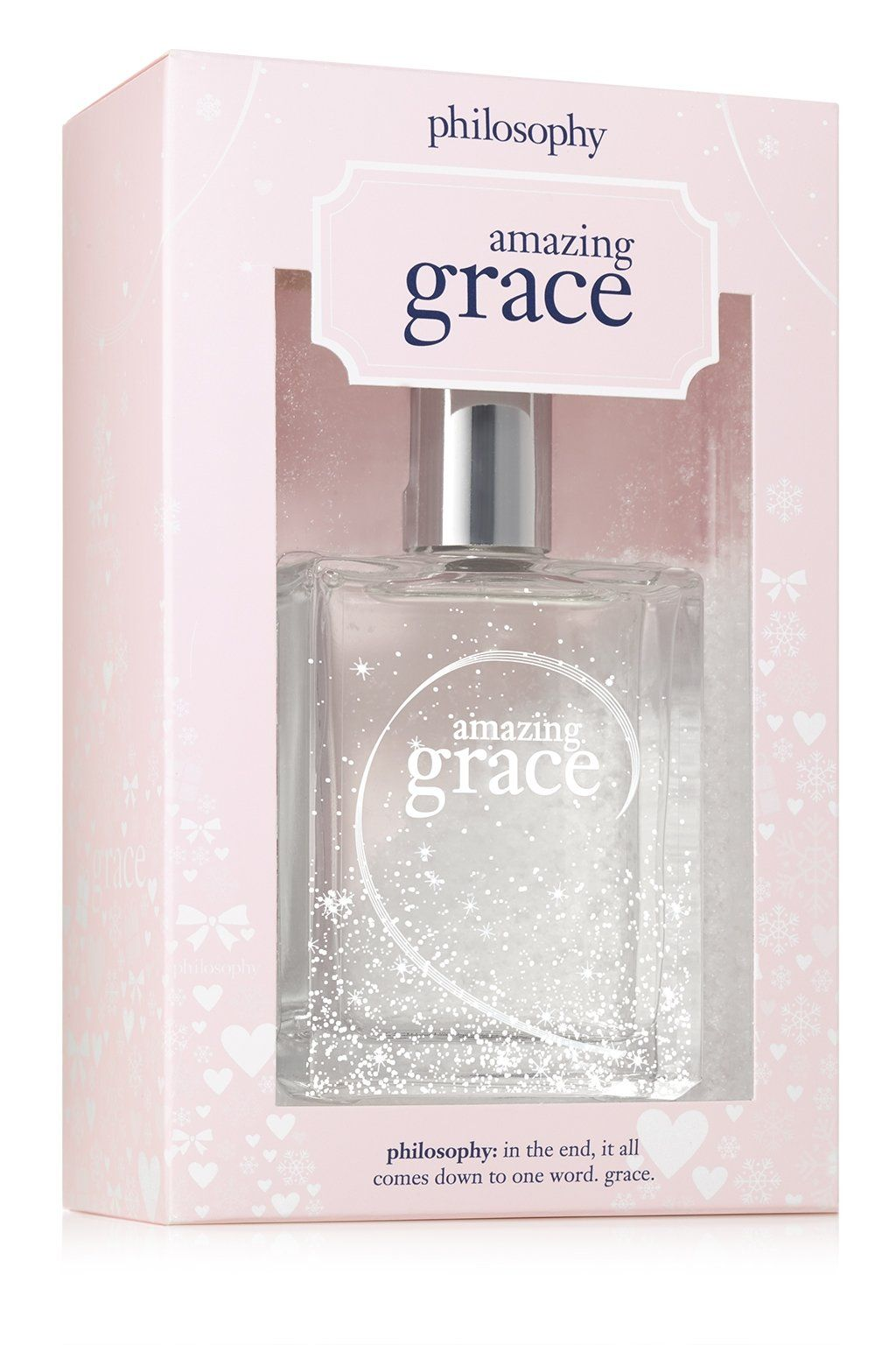 Philosophy S Iconic Amazingly Clean And Classic Feminine Floral Fragrance Comes Wrapped Holiday Style In Limite Philosophy Amazing Grace Amazing Grace Perfume