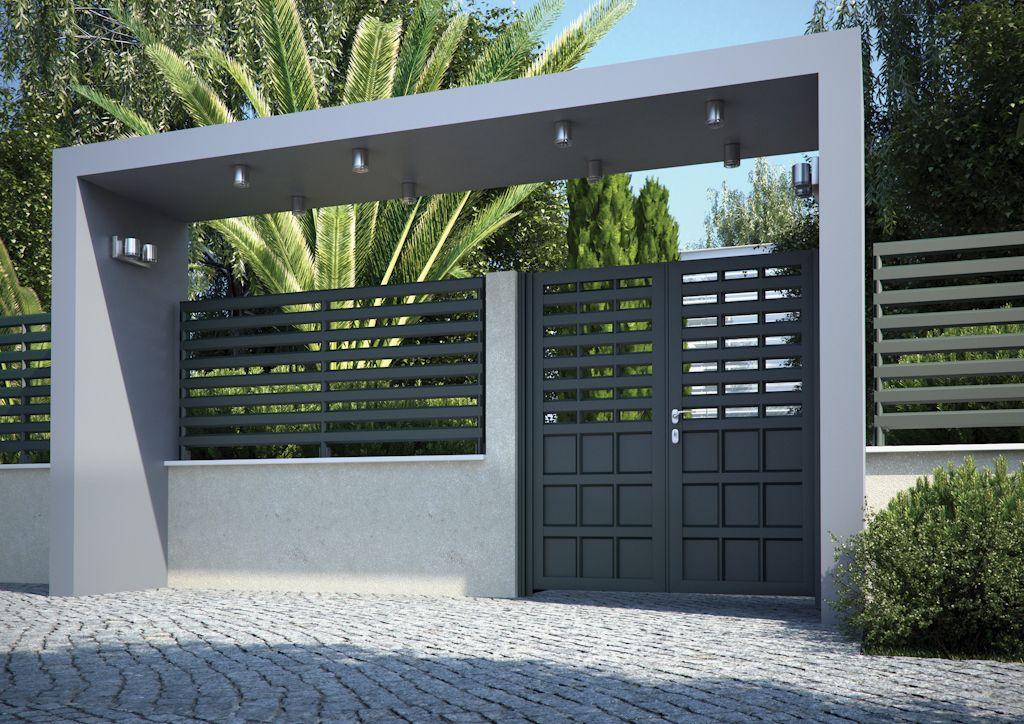 Cancelas de dise o en aluminio de alta calidad aluminco - Rejas de casas modernas ...