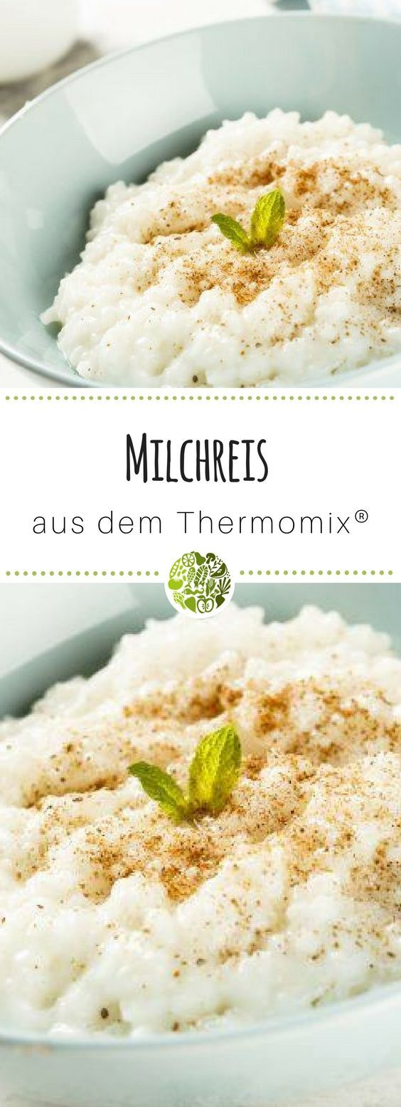 Photo of Milk rice from the Thermomix ® sweet and wonderfully creamy – homemade