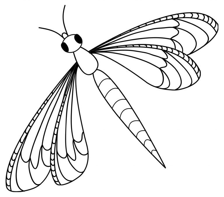 Free Printable Dragonfly Coloring Pages For Kids Coloring Pages