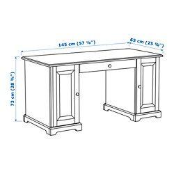 liatorp desk white 57 1 8x25 5 8 ikea kelly 39 s office pinterest. Black Bedroom Furniture Sets. Home Design Ideas