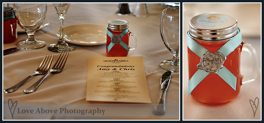 Homemade jelly favors! Photo by loveabovephoto.com