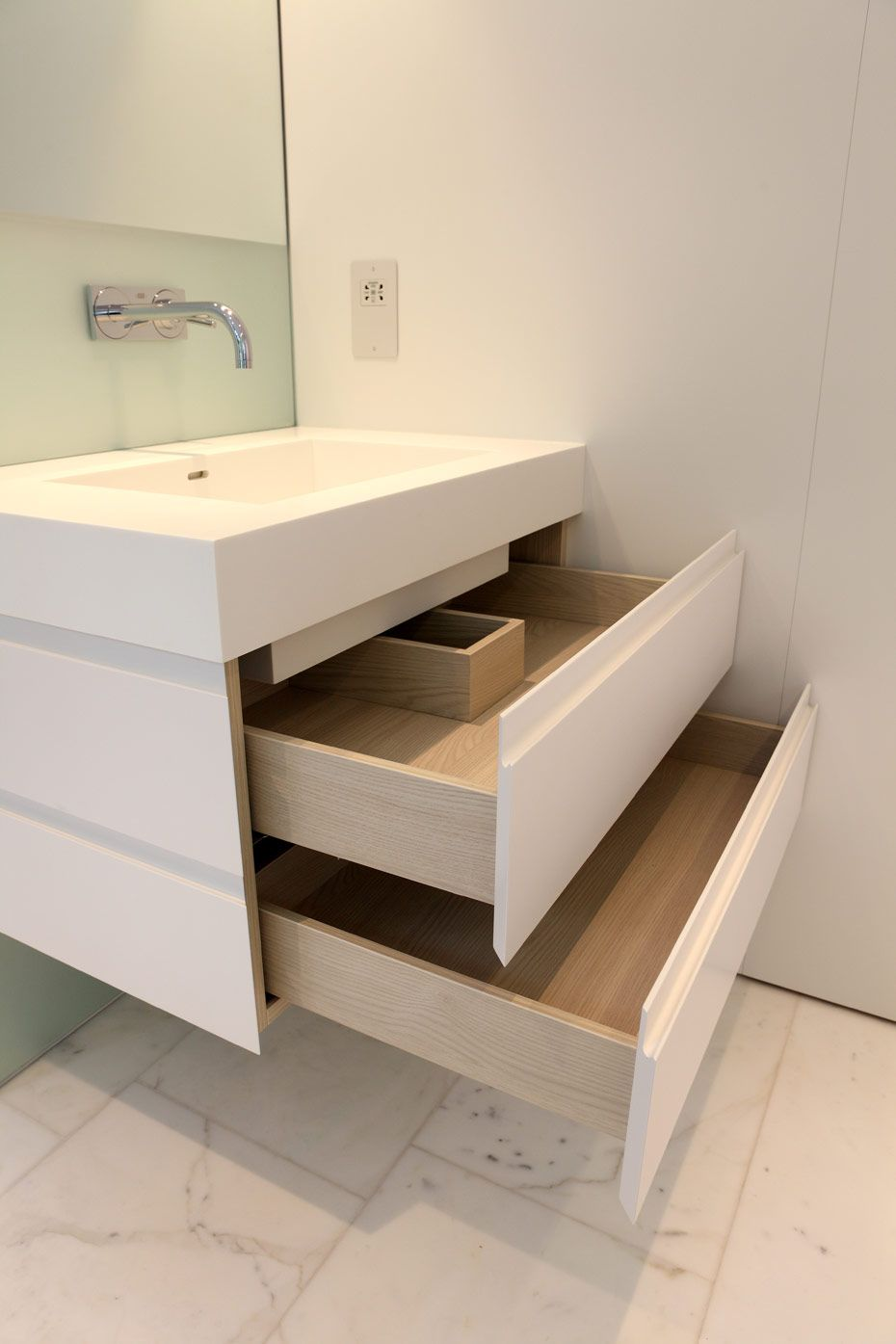 Interiorid project bespoke joinery london uk bathrooms