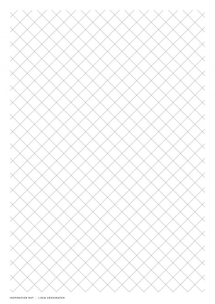 Download Printable Crosshatch Paper  Inspiration Hut Resources  Pdf