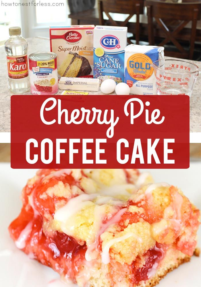 Cherry Coffee Cake – How to Nest for Less™