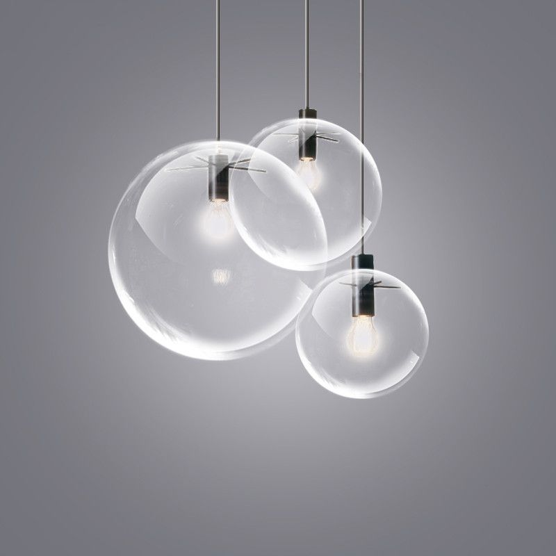 Glass Bubble Lamp Shade Pendant Ceiling Light Glass Bubble Lamp