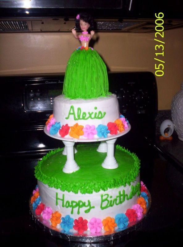 Luau Cake Ideas For Kids Luau Theme Pinterest Luau cakes Luau