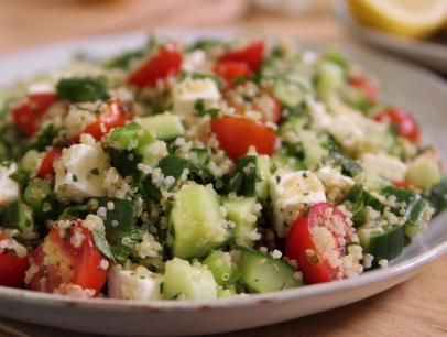 Have a look at quinoa tabbouleh with feta its so easy to make foods quinoa tabbouleh with feta recipe forumfinder Choice Image