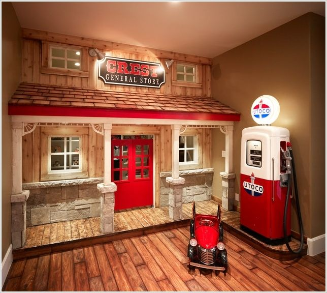 Indoor Castle Playhouse | 15 Fun and Cool Indoor Playhouse Ideas for ...