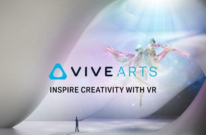 Htc has launched the vive arts program art programs