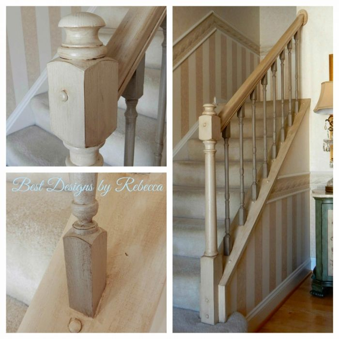 Stair Rail Transformation | Stair railing, Stairs, Lacquer ...