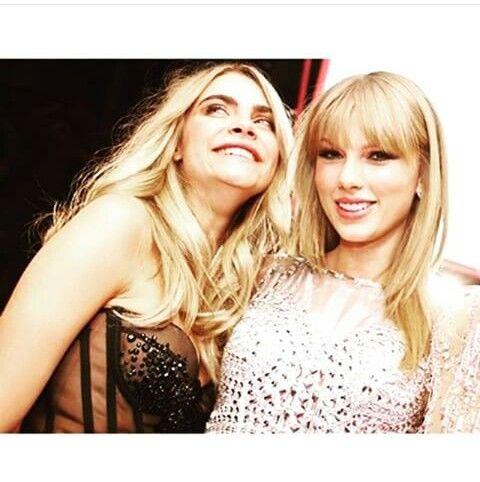 Cara and Taylor