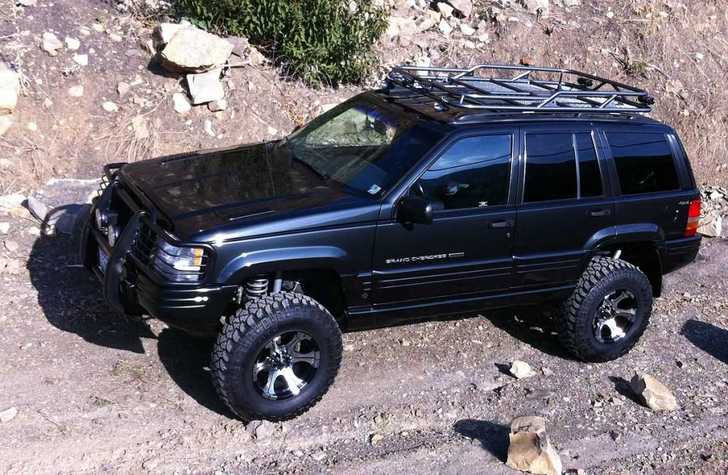Custom Black Jeep Zj Jeep Grand Cherokee Jeep Zj Jeep Grand Cherokee Zj