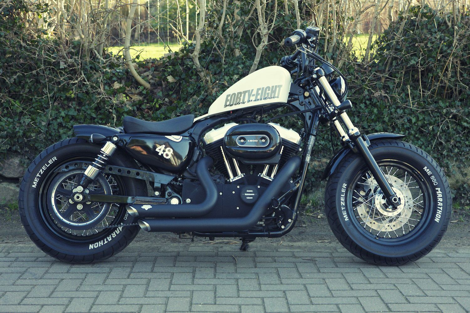 Harley Davidson Sportster 48 XL 1200X forty eight Umbau | eBay ...