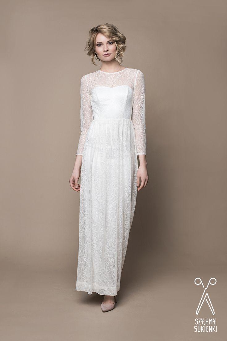 289ebddcc0 Pin od SZYJEMY SUKIENKI the dressmakers na Wedding gowns by SZYJEMY ...