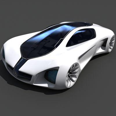 Ordinaire Model Car · Mercedes Benz Biome Concept Car