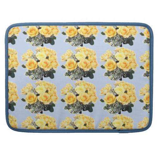 "Yellow Roses Macbook Pro 15"" Sleeve Sleeves For MacBook Pro"