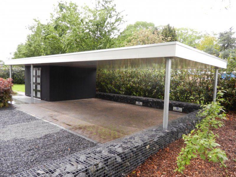Garage Met Carport : Berging met carport google zoeken přístřešek