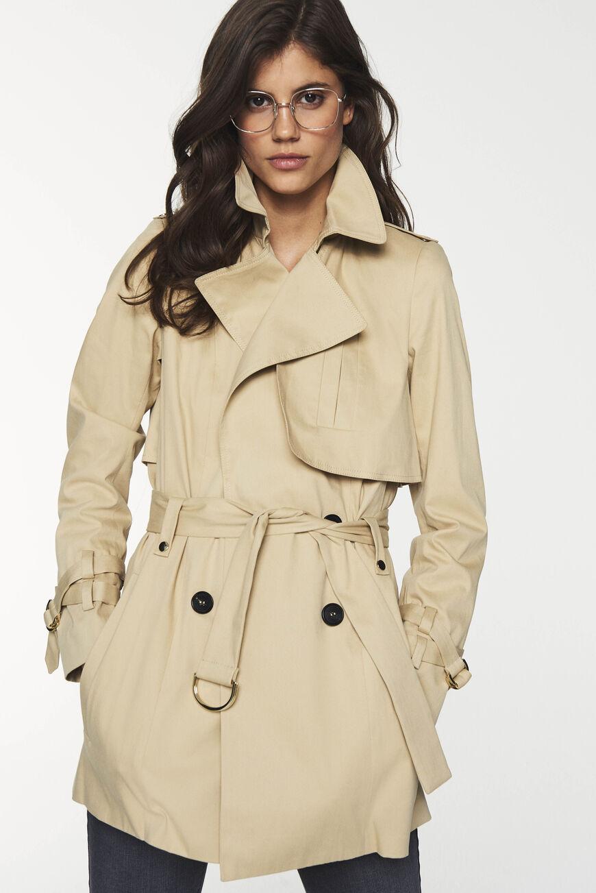 Trenchcoat Tiago Muscade Ba Sh Trench Coat Coat Rainwear Girl