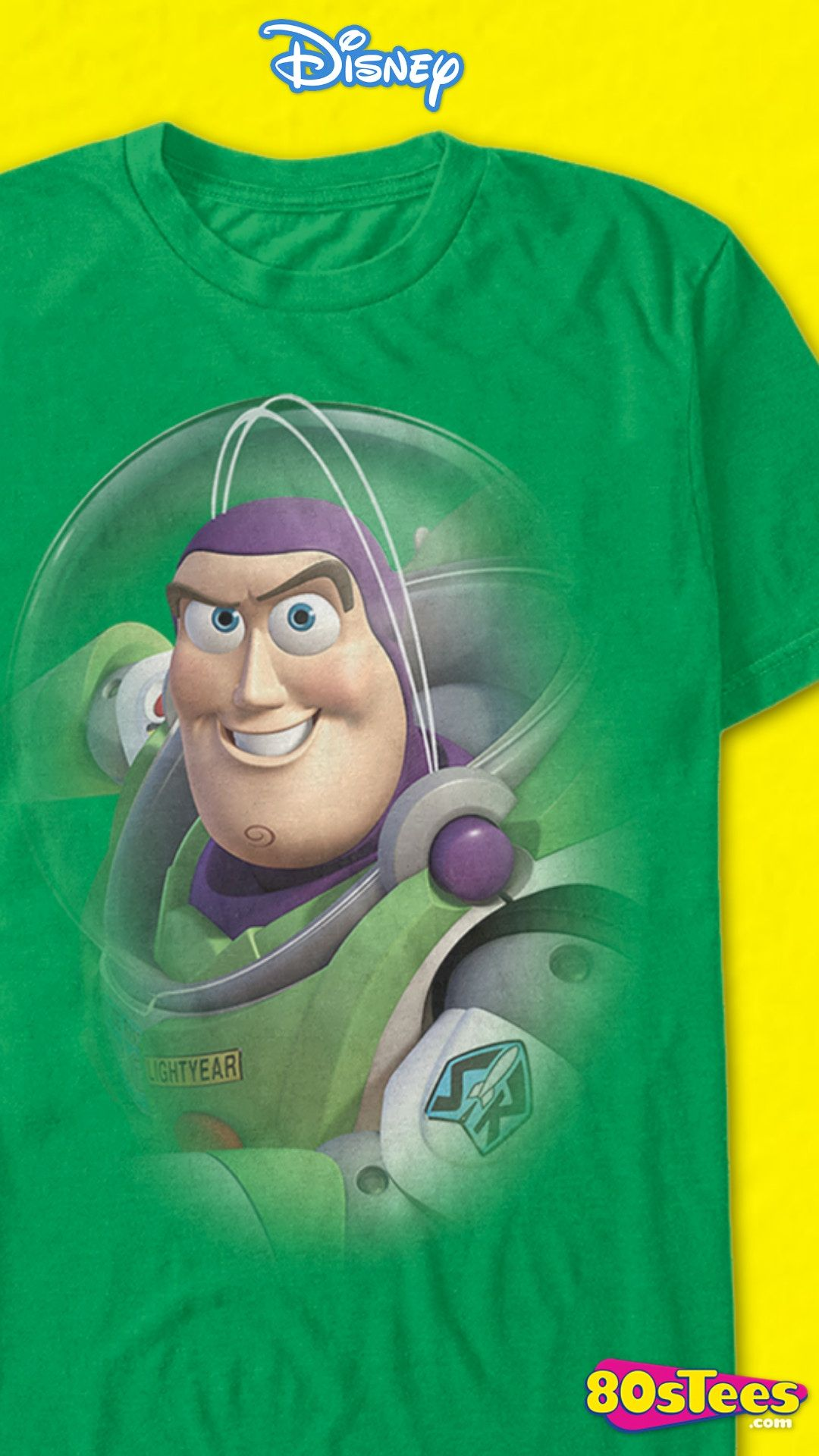 Toy Story Buzz Lightyear Personalised Birthday Boy T-Shirt Ideal Gift//Present