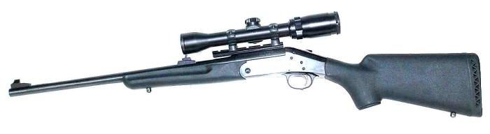 new england arms 243 single shot rifle | Item:8786780 New England Firearms, Co Model Handi Rifle Youth .243 Cal ...