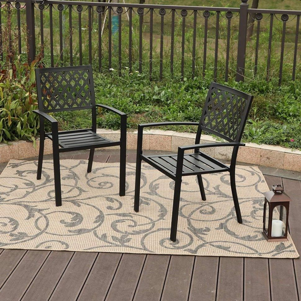 Garden Iron Chairs In 2020 Patio Dining Chairs Patio Dining Set
