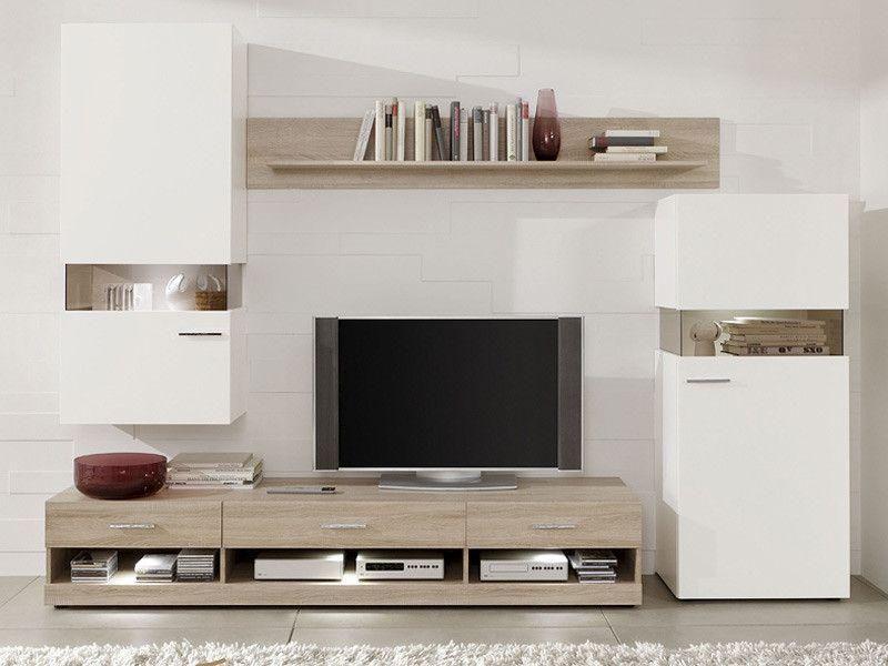 Obývací stěna Newark2 | Nábytek ATAN | Obývací pokoje | Obývací ...