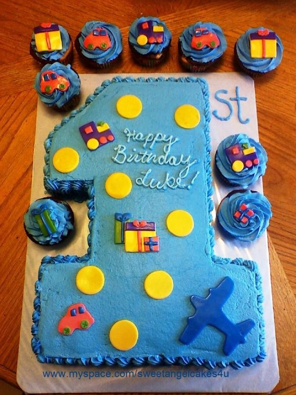 Pictures Of Birthday Cakes For One Year Old Boys Picture Cake